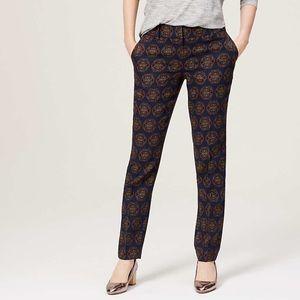 LOFT Foulard Pencil Pants Julie Fit Size 6